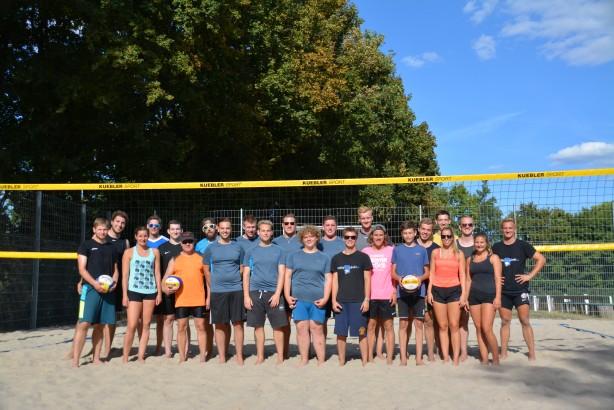 Beachvolleyball Turnier 2018