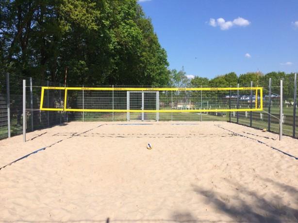 Beachvolleyballplatz wieder offen
