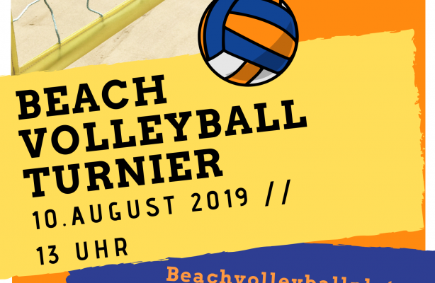 Beachvolleyballturnier 2019